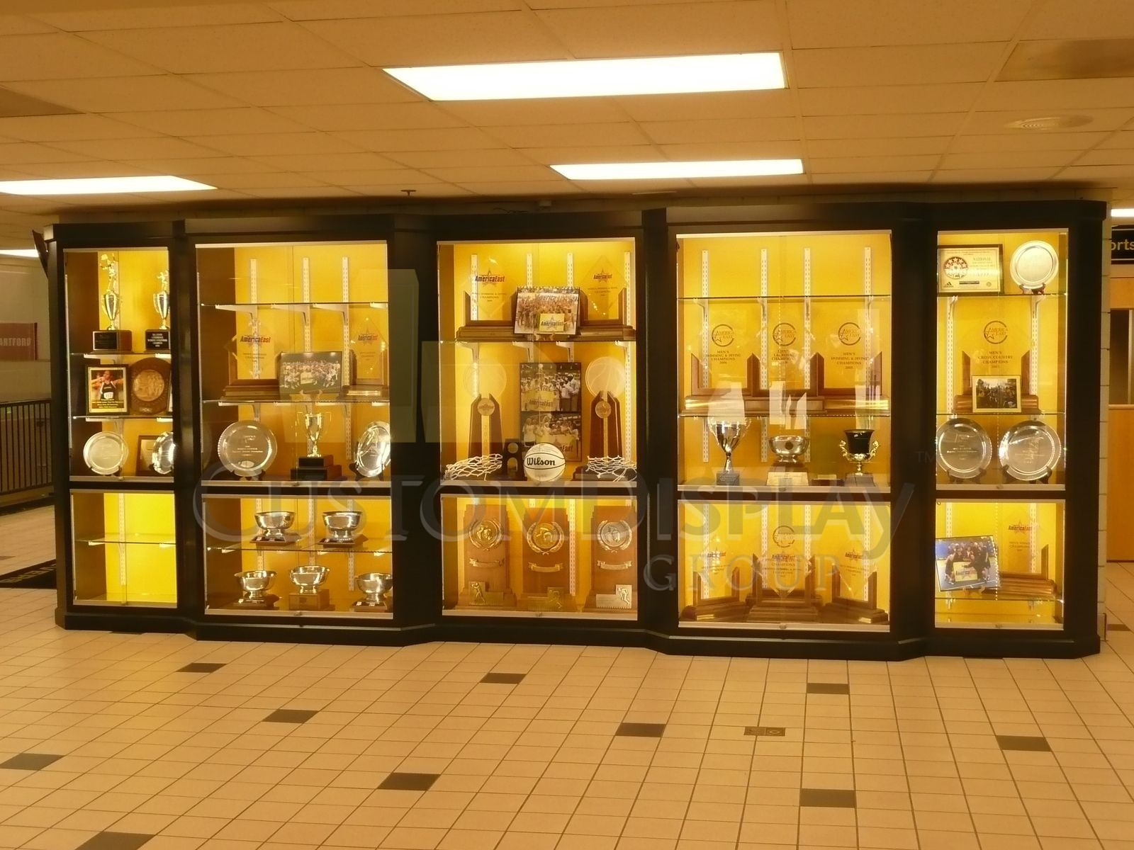 Trophy Glass Display Cases For A Successful Business